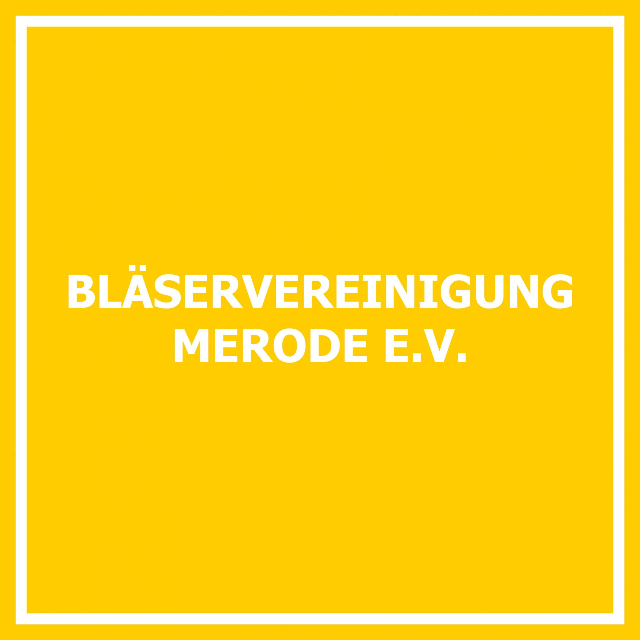 Bläservereinigung Merode e. V.