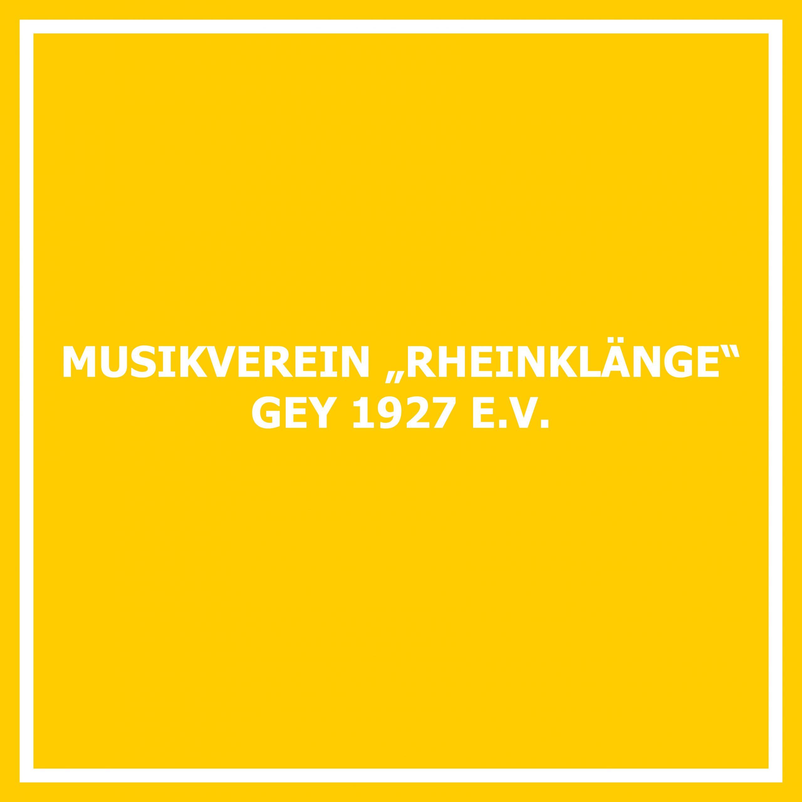 Musikverein Rheinklänge Gey 1927 e. V.
