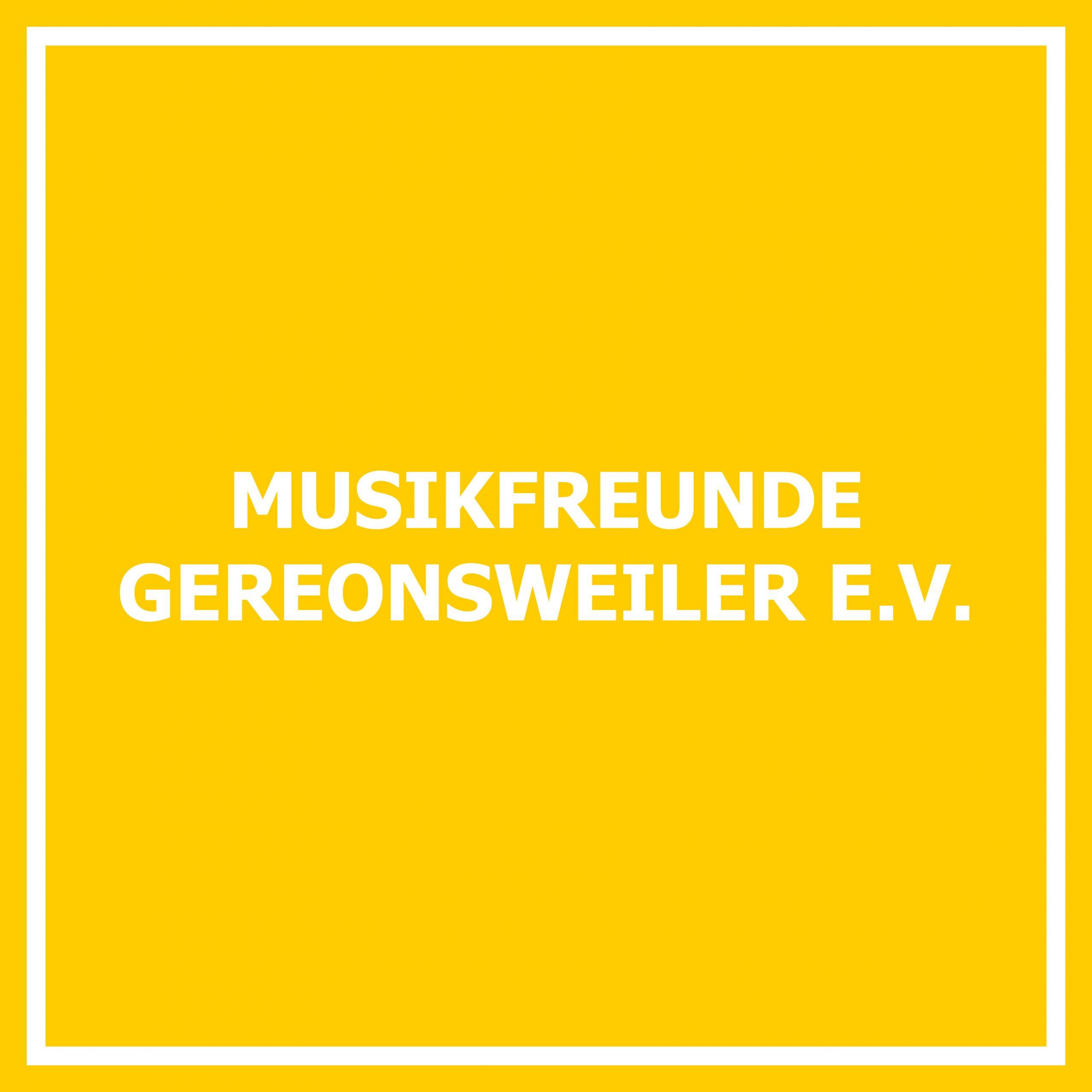 Musikfreunde Gereonsweiler e. V.