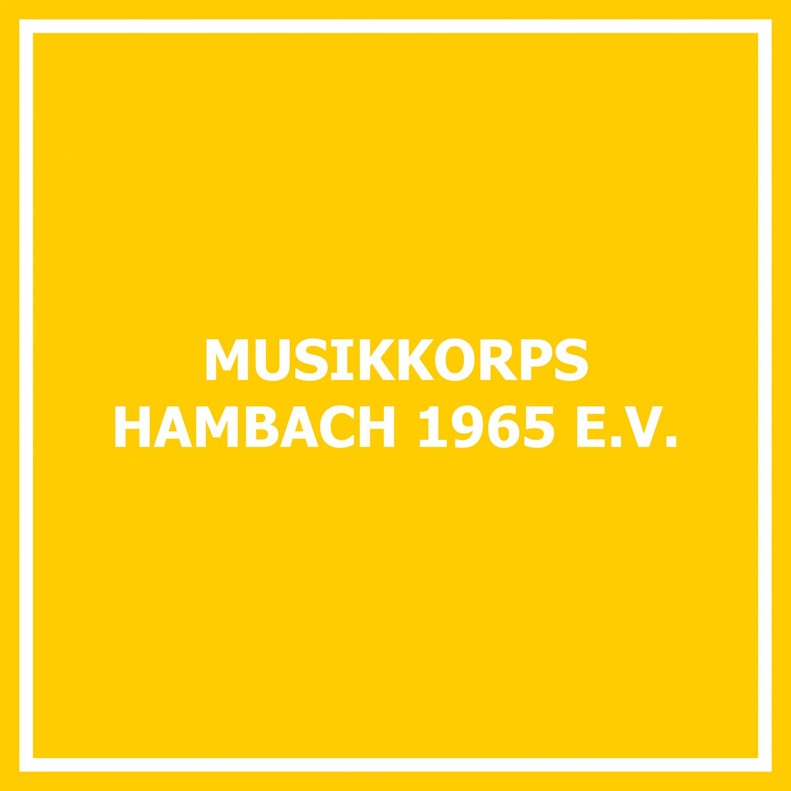 Musikkorps Hambach 1965 e. V.