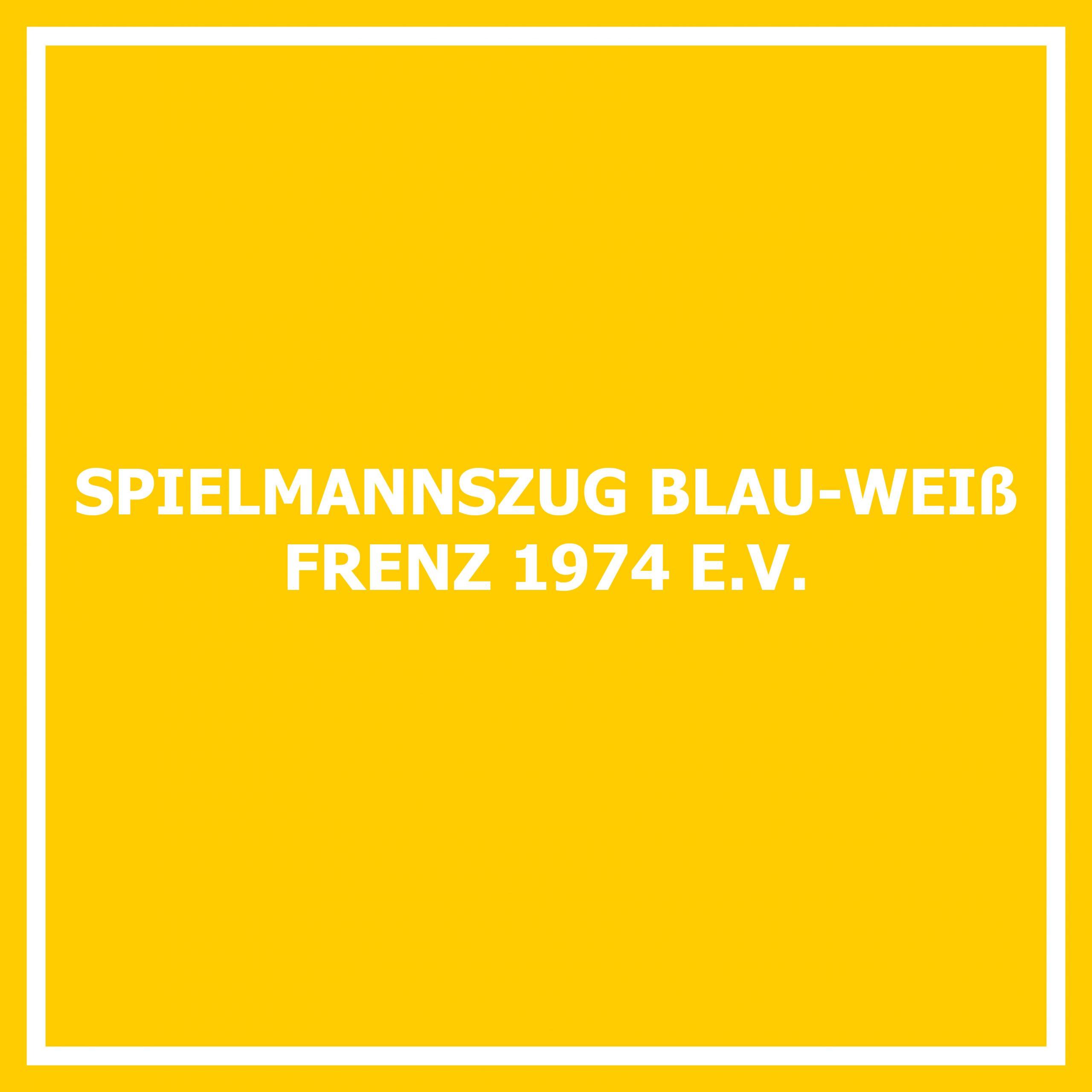 Spielmannszug Blau-Weiß 1974 Frenz e. V.