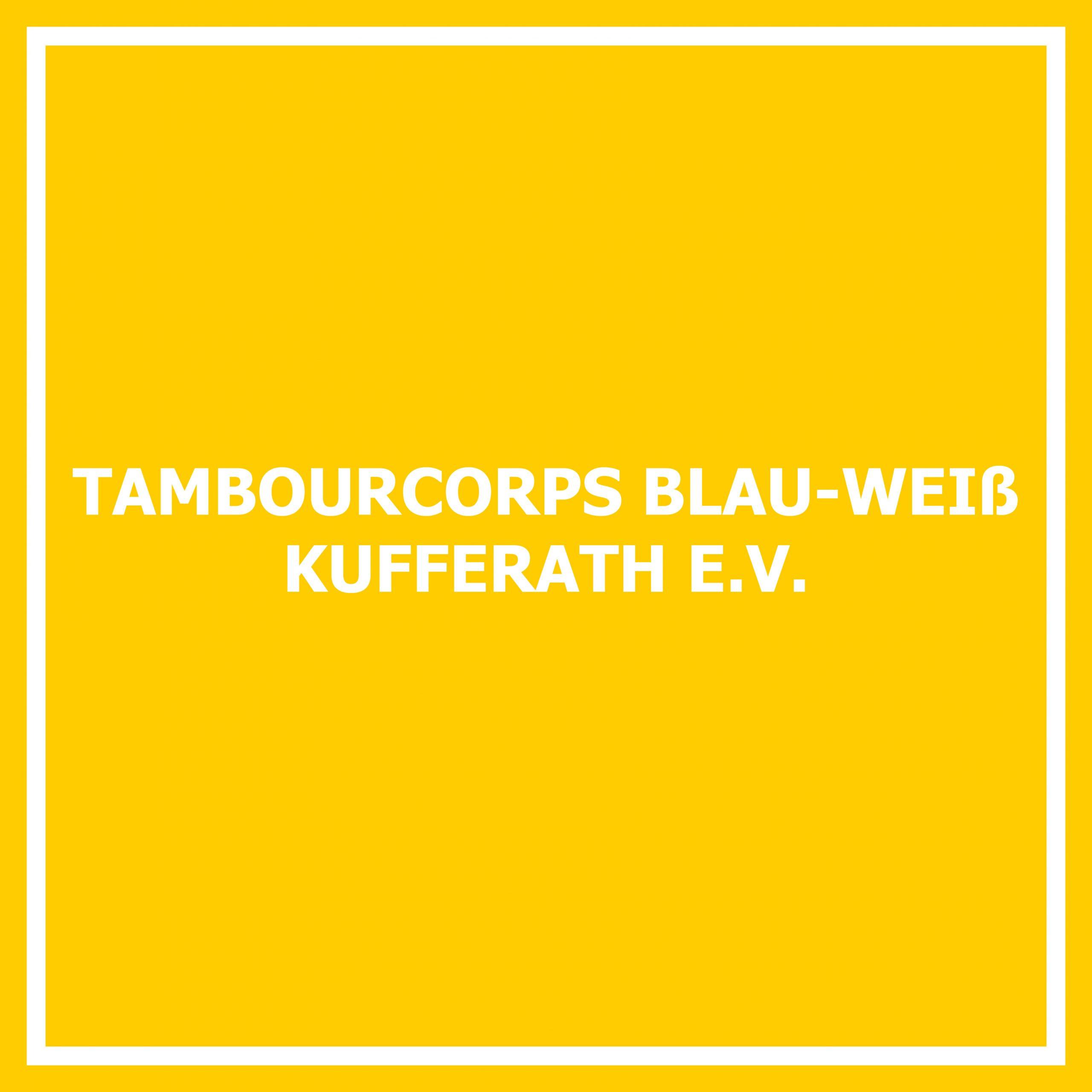 Tambourcorps Blau-Weiß Kufferath e. V.