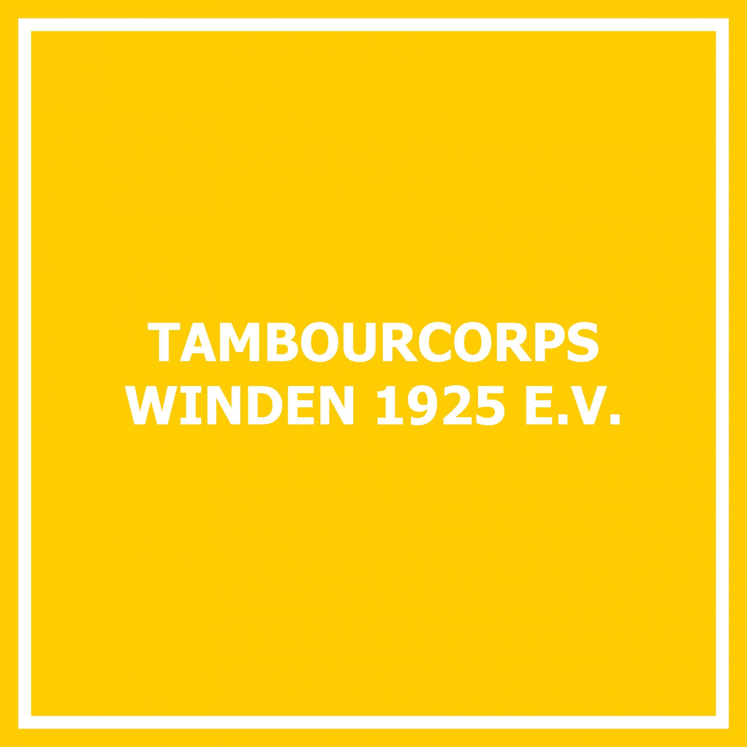 Tambourcorps Winden 1925 e. V.