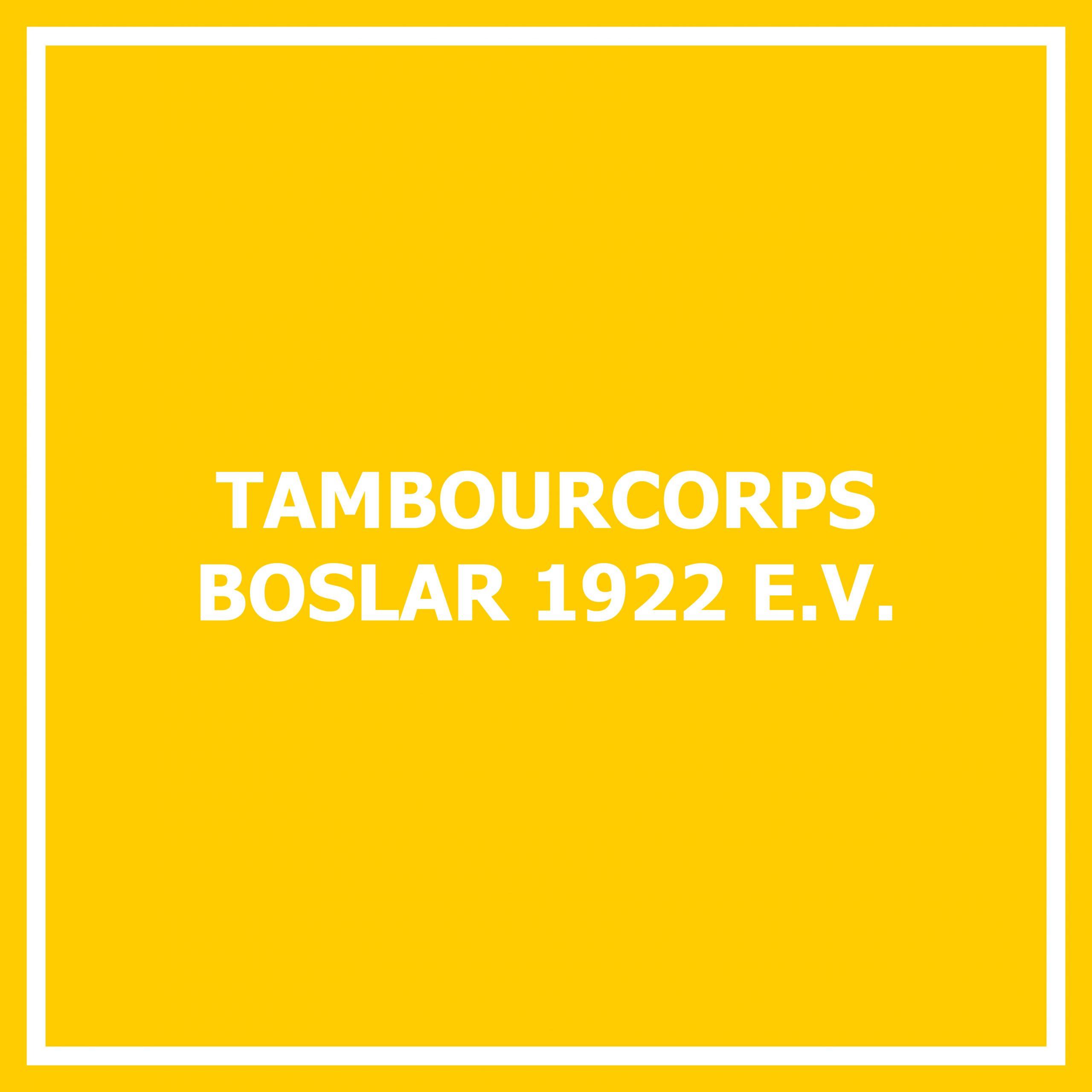 Tambourcorps Boslar 1922 e. V.