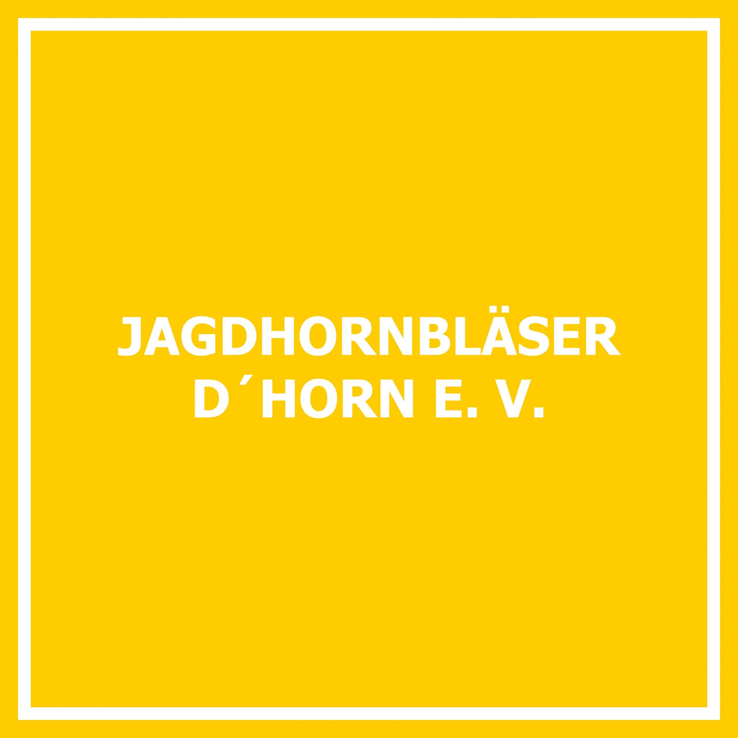Jagdhornbläser D´horn e. V.